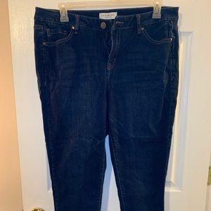 Lane Bryant Sz16 Skinny Jeans